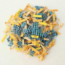 500PCS 100 Values 1W 1 Ohm - 1M Ohm Metal Film Resistor +/-1% Assortment Kit