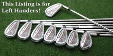 Cobra Golf King 2017 OS Oversize Irons 4-PW+GW - LEFT HAND - Steel Stiff NEW