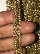 1cmGarnet Gold-plated Lace Centipede Knit Lace Ribbon Diy Accessories Lace Curve