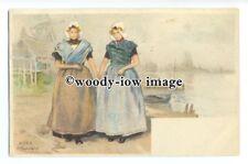 su3126 - Dutch Women - artist H Cassiers - postcard