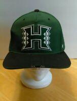 Zephyr NCAA Hawaii Rainbow Warriors Equalizer Snapback Flat Bill Hat Cap