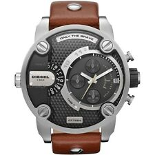 OROLOGIO DIESEL DZ7264 CHRONO MARRONE NUOVO WATCH NEW MEN UOMO PELLE LEATHER