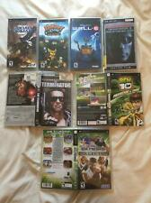 Sony PSP 3 Games Wall-e Ratchet Size Matters & Warhammer Squad Command + More