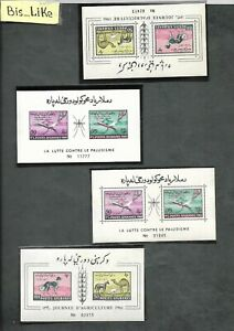 BIS_LIKE:4 blocks Afghanistan MH/ yellow stains /NH LOT JL 03-10