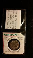 PADOVA - ULRICO DI VALSEE 1320/1321 - GROSSO AQUILINO ARGENTO - MONETA