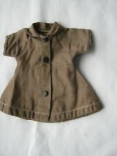1950s Vintage Terri Lee Tagged Brownie Girl Scout Doll Outfit Brown Dress/Estate
