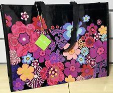 Vera Bradley Floral Fiesta Market Shopper Tote: Reusable, Eco-Friendly