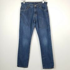 Lucky Brand Boys Jeans Denim Billy Straight Medium Wash Stretch Size 16