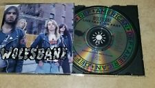 WOLFSBANE: LIVE FAST, DIE FAST CD  BLAZE BAYLEY IRON MAIDEN OUT OF PRINT
