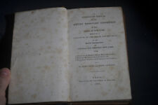 1837 *FIRST* An Historical Sketch of the Baptist Missionary Convention New York