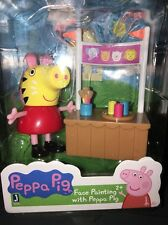 New Peppa Pig Face Painting Figurine PLAYSET Age 2+