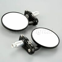 """Motorcycle Rear View 7/8"""" Handle Bar End Mirrors for Ducati 1199 Panigale 2014"""