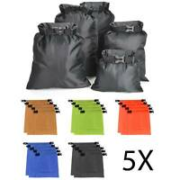 5X Outdoor Dry Bags Rafting Boating Kayaking Camping Hiking Waterproof Sacks
