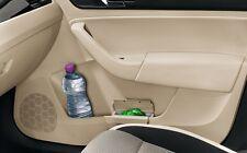 Genuine Volkswagen Bin for door panel Beige Color VW Golf A7 Tiguan Jetta Passat