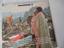 Woodstock *Sealed* Original 1st Press Lp_Hendrix-The Who-Joplin-The Airplane