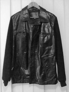 Calvin Klein Men's Leather Jacket (Medium)