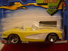 Hot Wheels 58 Corvette #069 yellow!