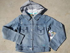 NEW* ROXY JEAN JACKET COAT SHIRT HOODY $54 GIRLS XL 16