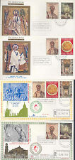 VATICAN CITY APOSTLES PETER & PAUL LOT OF FOUR  FIRST DAY COVERS  SC #448/52