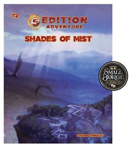 """Fifth Edition Adventures, Levels 3-5, - """"SHADES of MIST"""" ,Troll Lord Games, NEW"""