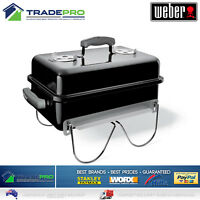 Weber BBQ Go Anywhere PRO with Hood Portable Charcoal Grill Camp Cooker Stove