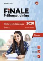 FiNALE Prüfungstraining 2020 Mittlerer Schulabschluss Nordrhein-Westfalen. Deuts