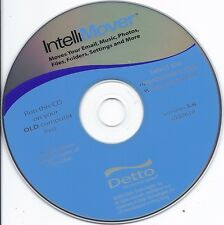 Detto Intellimover CD (Move your email music photos files folders settings etc.)