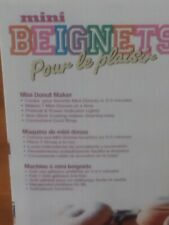 Brentwood TS-250 Mini Donut Maker Home Kitchen Appliance Cook Food Desert Treats
