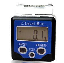 Digital Bevel Box Level Angle Finder Gauge Protractor Spirit Level Inclinometer