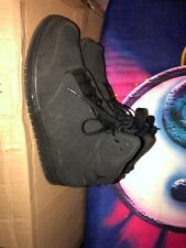 Mens Black High Top Jordan Shoe Size 10