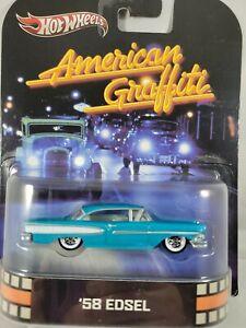 2012 Hot Wheels Retro Entertainment American Grafitti '58 Edsel w/ Real Riders