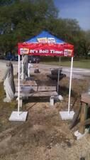 Miller Lite Beer & Louisiana Seasoning 5' x 5' Popup Canopy Tent