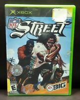 NFL Street Football EA Big  Microsoft Xbox OG Rare Game Working Tested