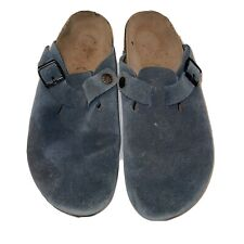 Birkenstock SizeWomen Unisex Boston Cork Footbed Clogs Slip On  Leather Slippers
