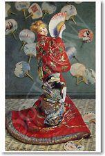 Monet - Madame Monet in Japanese Kimono 1875 - NEW French Fine Art Print POSTER