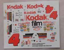 Slixx decals for #4 Kodak Gold Monte Carlo DECAL 1/25 6727-9030