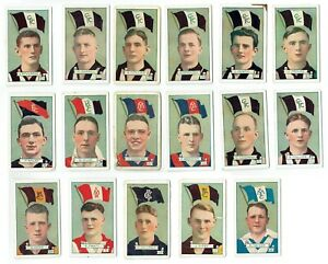 1934 Allens Steam Rollers Gum Jubes Cure em VFL football cards YOU PICK THE CARD