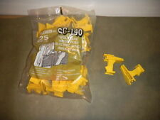 Fi-Shock Sc-140 Polytape Wood Post Electric Fence Insulators - opened bag of 10