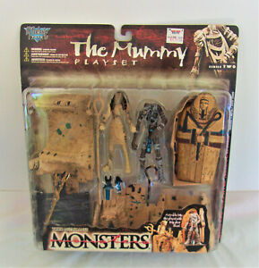 The Mummy  Playset - McFarlane Toys Action Figure Monsters Series 2