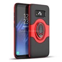 Funda iPaky Magnético Soporte 360° Anillo Caso Para Samsung Galaxy S7 S8 S9 Plus
