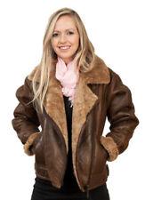 Manteaux et vestes en cuir pour femme, taille XS