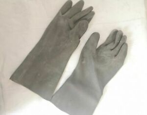 RADIATION STRONG RUBBER MILITARY OP-1 CHEMICAL GLOVES