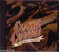 Time Life Classic Country 1950-1959 2CD SONNY JAMES RAY PRICE JIM REEVES Rare