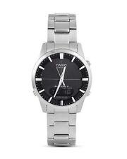 Analoge & digitale polierte Armbanduhren mit 12-Stunden-Zifferblatt