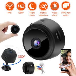 Mini Hidden Camera Wifi Wireless 1080P HD DVR Night Vision Security Spy Camera