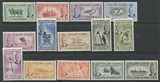 Falkland Islands 1952 set to £1 mint o.g. hinged