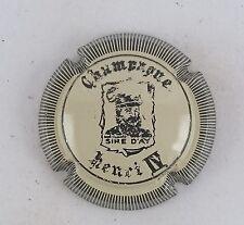 capsule champagne FLINIAUX roland n°12 crème et noir striée