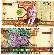 Asia Other Asian Paper Money 1 Bankfrisch 1993 1 Manat A Wide Selection Of Colours And Designs Turkmenistan Pick-number