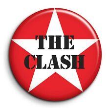 Badge Epingle 38mm Button Pin The Clash musique punk rock années 80