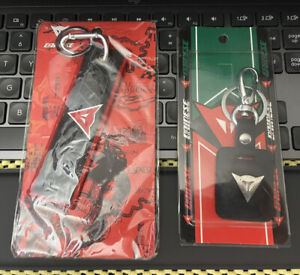 LOT of Dainese Jet Tag and Leather Keychain